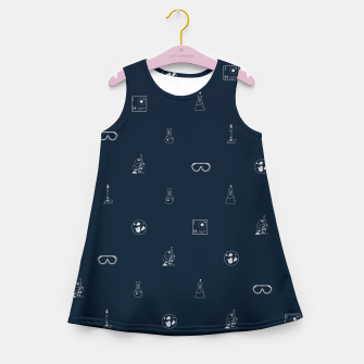 Thumbnail image of Science! Girl's summer dress, Live Heroes