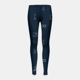 Thumbnail image of Science! Girl's leggings, Live Heroes