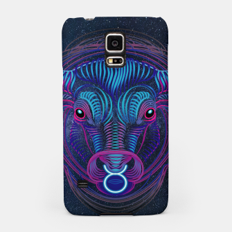 Thumbnail image of Taurus Zodiac Art Galaxy Earth Element Samsung Case, Live Heroes