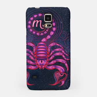 Thumbnail image of Scorpio Zodiac Art Galaxy Water Element Samsung Case, Live Heroes