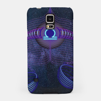 Thumbnail image of Libra Zodiac Art Galaxy Air Element Samsung Case, Live Heroes