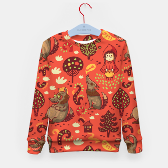 Thumbnail image of Little Red Riding Hood Kid's sweater, Live Heroes