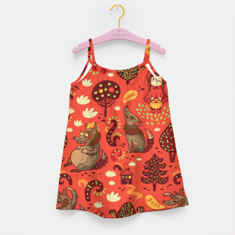 Thumbnail image of Little Red Riding Hood Girl's dress, Live Heroes