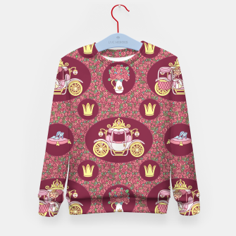 Thumbnail image of Cinderella Kid's sweater, Live Heroes