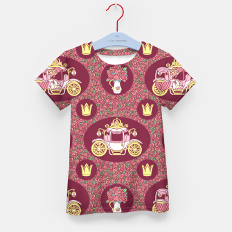 Thumbnail image of Cinderella Kid's t-shirt, Live Heroes