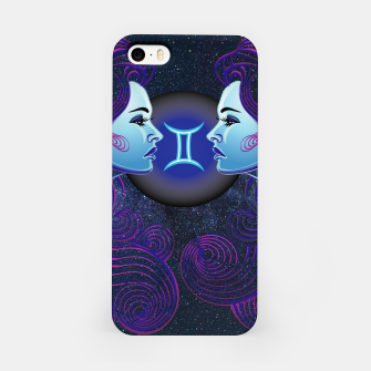 Thumbnail image of Gemini Zodiac Art Galaxy Air Element iPhone Case, Live Heroes