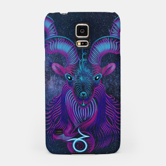 Thumbnail image of Capricorn Zodiac Art Galaxy Earth Element Samsung Case, Live Heroes