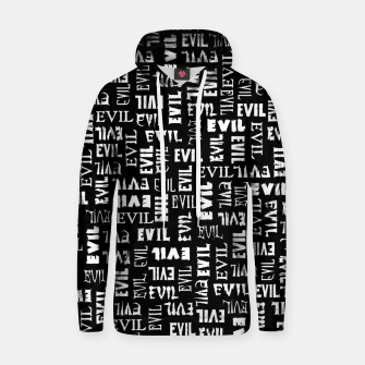 Thumbnail image of Evil All Over Hoodie, Live Heroes