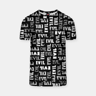 Thumbnail image of Evil All Over T-shirt, Live Heroes