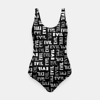 Miniatur Evil All Over Swimsuit, Live Heroes