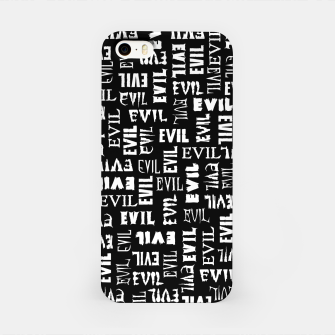 Thumbnail image of Evil All Over iPhone Case, Live Heroes
