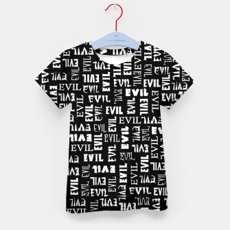 Thumbnail image of Evil All Over Kid's t-shirt, Live Heroes