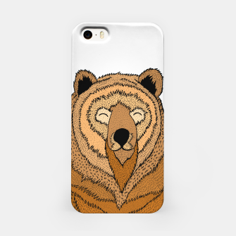 Miniatur Happy Bear iPhone Case, Live Heroes