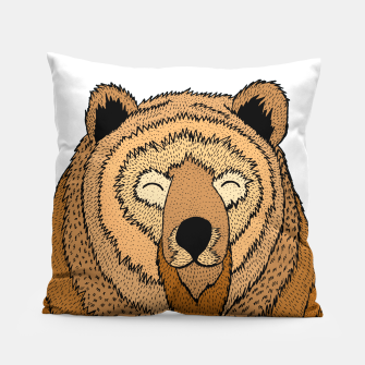 Miniatur Happy Bear Pillow, Live Heroes