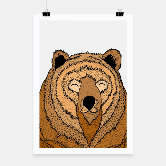 Thumbnail image of Happy Bear Poster, Live Heroes