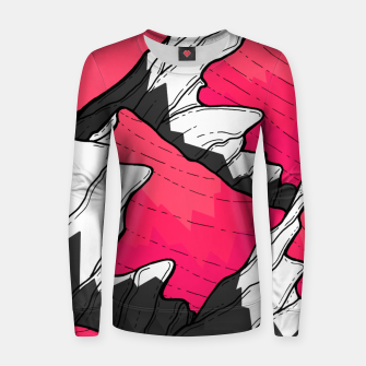 Thumbnail image of pink tone peaks Women sweater, Live Heroes