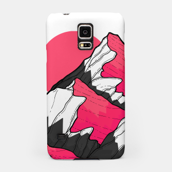 Thumbnail image of pink tone peaks Samsung Case, Live Heroes