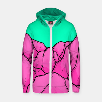 Miniatur The Pink Rose Hills Zip up hoodie, Live Heroes