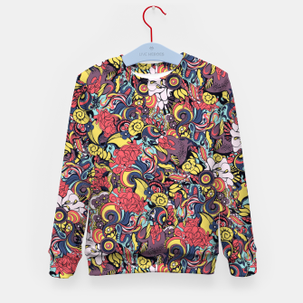 Thumbnail image of Colorful Floral Flowers Kid's sweater, Live Heroes