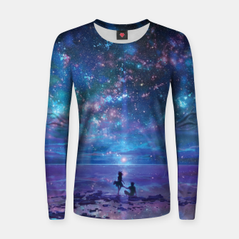 Thumbnail image of Amazing Sky Women sweater, Live Heroes