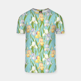 Thumbnail image of Irises in the sky T-shirt, Live Heroes