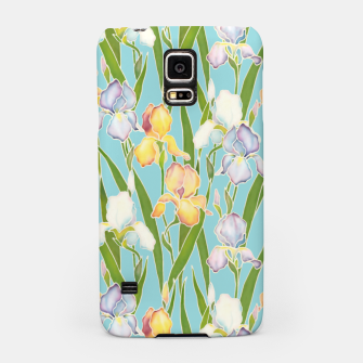 Thumbnail image of Irises in the sky Samsung Case, Live Heroes