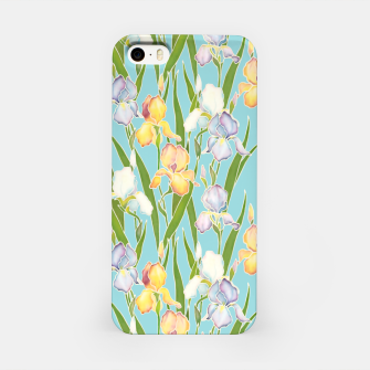 Thumbnail image of Irises in the sky iPhone Case, Live Heroes