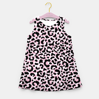 Miniature de image de Leopard print / Pale pink Girl's summer dress, Live Heroes