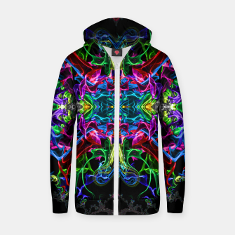 Thumbnail image of Cosmic Blast Zip up hoodie, Live Heroes