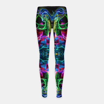 Thumbnail image of Cosmic Blast Girl's leggings, Live Heroes