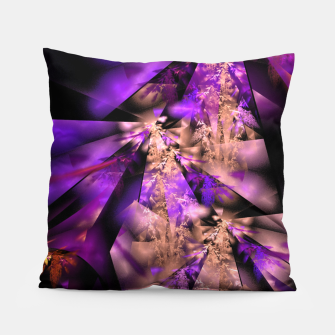 Thumbnail image of Delicate fractal grasses Pillow, Live Heroes