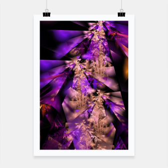 Thumbnail image of Delicate fractal grasses Poster, Live Heroes