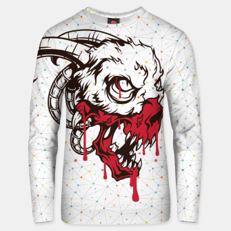 Thumbnail image of Abstract Goat Unisex sweater, Live Heroes