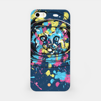 Thumbnail image of Colorful Cat Space iPhone Case, Live Heroes