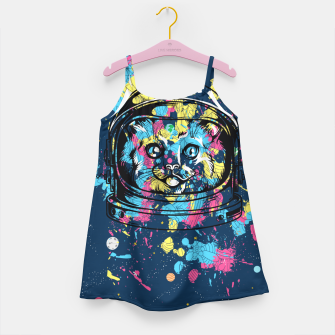 Thumbnail image of Colorful Cat Space Girl's dress, Live Heroes