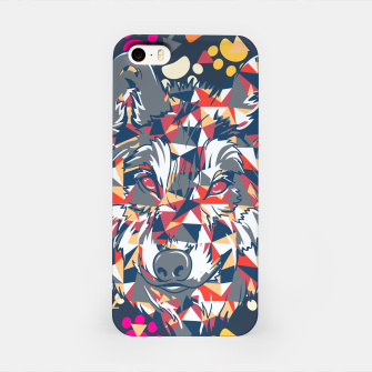 Thumbnail image of Colorful Wolf Pattern iPhone Case, Live Heroes