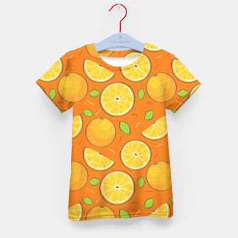 Thumbnail image of Orange Fruits Kid's t-shirt, Live Heroes