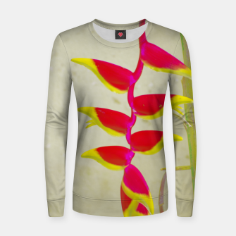 Thumbnail image of Heliconia 2 Women sweater, Live Heroes