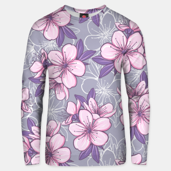 Thumbnail image of Cherry Blossom Unisex sweater, Live Heroes