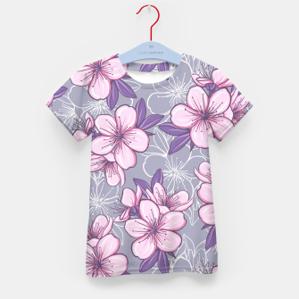 Thumbnail image of Cherry Blossom Kid's t-shirt, Live Heroes