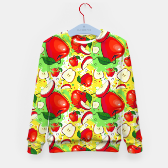 Thumbnail image of Apple Pattern Kid's sweater, Live Heroes