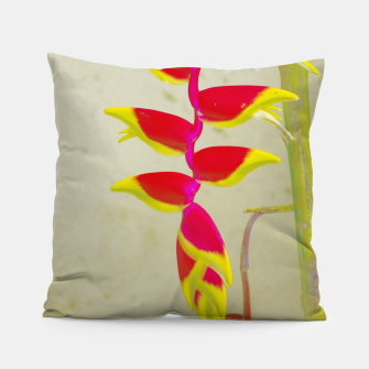 Thumbnail image of Heliconia 2 Pillow, Live Heroes