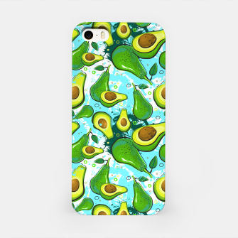 Thumbnail image of Avocado Pattern iPhone Case, Live Heroes