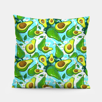 Thumbnail image of Avocado Pattern Pillow, Live Heroes