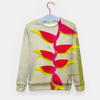 Thumbnail image of Heliconia 2 Kid's sweater, Live Heroes