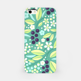 Thumbnail image of Blackcurrant Pattern iPhone Case, Live Heroes