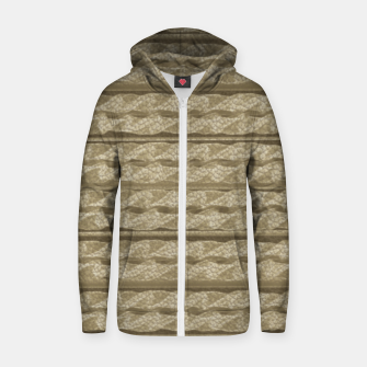Thumbnail image of Leather Sudadera con capucha y cremallera , Live Heroes