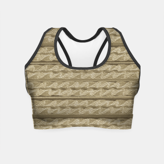 Thumbnail image of Leather Crop Top, Live Heroes
