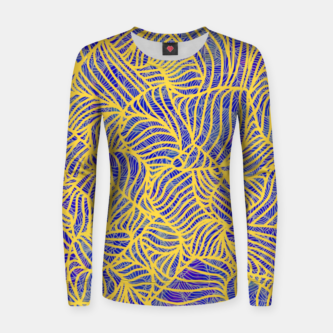Image of Gold Women sweater - Live Heroes