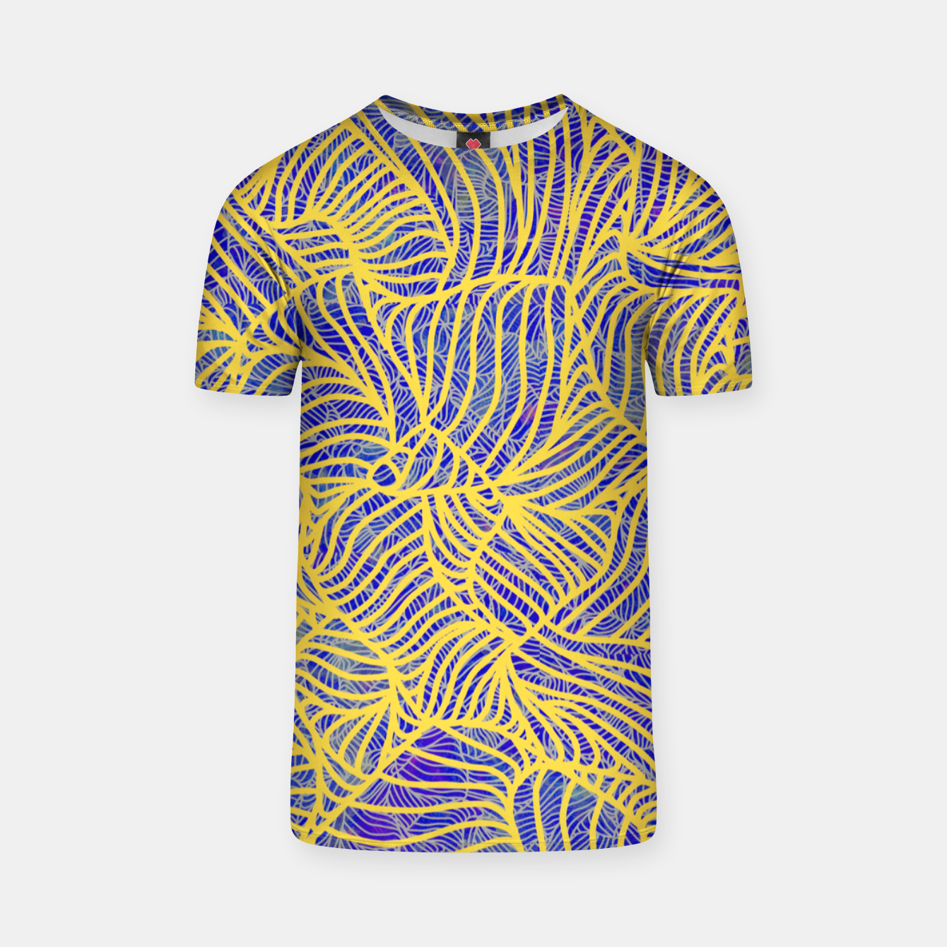 Image of Gold T-shirt - Live Heroes